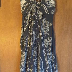 American Eagle tie up dress